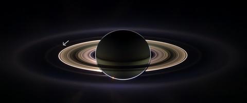 Solar eclipse of Saturn